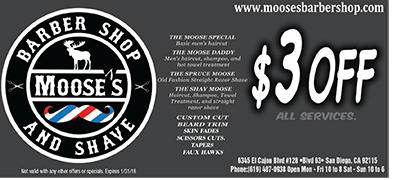 Moose's Barber Shop