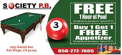 Society Billiards Pb