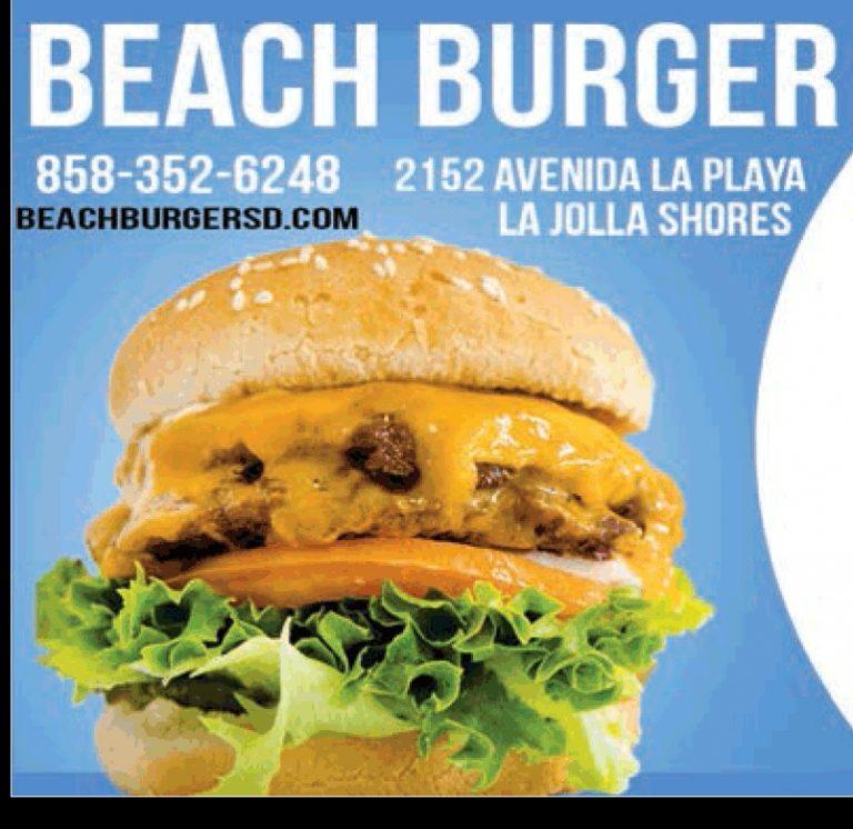 Beach Burger La Jolla Shores